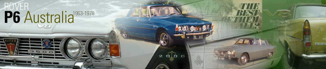 Rover P6 Australia